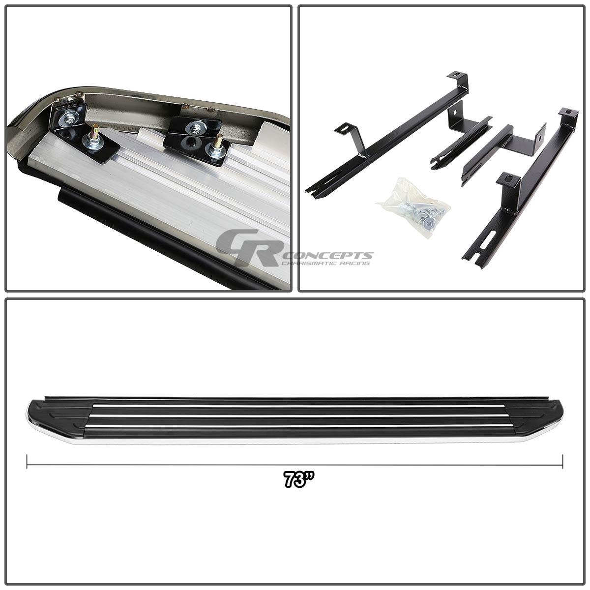 "5.5/"" ALUMINUM BOLT-ON SIDE STEP NERF BAR FOR FOR 10-15 LEXUS RX 350//450//450h SUV"